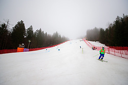 March 9, 2019 - Kranjska Gora, Kranjska Gora, Slovenia - Ski course at Audi FIS Ski World Cup Vitranc on March 8, 2019 in Kranjska Gora, Slovenia. (Credit Image: © Rok Rakun/Pacific Press via ZUMA Wire)