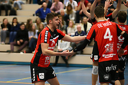 20160130 NED: Volleybal: Inter Rijswijk - Prins VCV, Rijswijk <br />Jesse Kling, Prins VCV