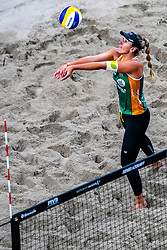 Belen Carro ESP in action during the second day of the beach volleyball event King of the Court at Jaarbeursplein on September 10, 2020 in Utrecht.