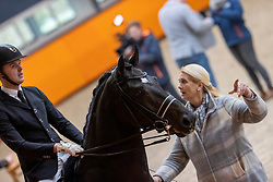 Snijder Nicky, NED, I'm Perfect STH<br /> Fotodag KWPN Hengstenkeuring 2021<br /> © Hippo Foto - Dirk Caremans<br /> 06/01/2021