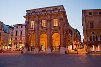 VICENZA, CENTRO STORICO, LOGGIA DEL CAPITANIO (architetto Andrea Palladio 1565), PIAZZA DEI SIGNORI, VENETO, ITALIA