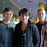 NLD/Hilversum/20110126 - Interview 3 J's tijdens Tros Gouden Uren, Jaap Kwakman, Jan Dulles, Jaap de Witte