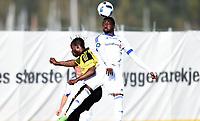 Fotball , 4. mai 2016 , 3. runde NM , <br /> Bærum - Stabæk<br /> Kamal Issah , Stabæk<br /> Emmanuel Amarh , Bærum