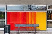 Murale Claude Vermette, Chalet du lac des castors, Art Public, Parc du Mont-Royal, Montréal, Québec Canada