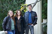 The Brennan Family poses for family portraits at the Montalvo Arts Center in Saratoga, California, on November 27, 2020. (Stan Olszewski/SOSKIphoto)