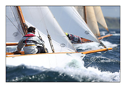 Day five of the Fife Regatta, Race from Portavadie on Loch Fyne to Largs. <br /> <br /> Fiona, Didier Cotton, FRA, Gaff Cutter, Wm Fife 3rd, 2005<br /> <br /> * The William Fife designed Yachts return to the birthplace of these historic yachts, the Scotland's pre-eminent yacht designer and builder for the 4th Fife Regatta on the Clyde 28th June–5th July 2013<br /> <br /> More information is available on the website: www.fiferegatta.com