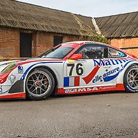#76, Porsche 911 GT3 RSR, IMSA Matmut, photographed at Laverstoke, UK, 2018
