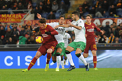 December 26, 2018 - Rome, Italy - Patrik Schick of AS Roma in action during the Italian Serie A football match between A.S. Roma and Sassuolo at the Olympic Stadium in Rome, on december 26, 2018. (Credit Image: © Federica Roselli/NurPhoto via ZUMA Press)