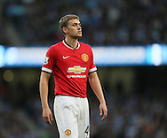 Manchester United's James Wilson in action<br /> <br /> - Barclays Premier League - Manchester City vs Manchester Utd - Etihad Stadium - Manchester - England - 2nd November 2014  - Picture David Klein/Sportimage
