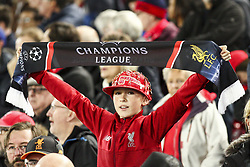 October 24, 2018 - Liverpool, England, United Kingdom - Liverpool supporters during the Uefa Champions League Group Stage football match n.3 LIVERPOOL - CRVENA ZVEZDA on 24/10/2018 at the Anfield Road in Liverpool, England. (Credit Image: © Matteo Bottanelli/NurPhoto via ZUMA Press)