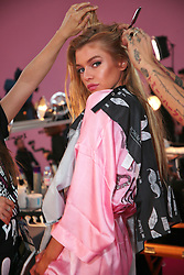 Victoria's Secret Fashion Show - Hair and Makeup, Paris, 2016, Paris, France. 30 Nov 2016 Pictured: Stella Maxwell. Photo credit: MEGA TheMegaAgency.com +1 888 505 6342