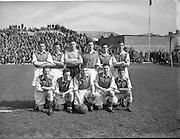 25/04/1954<br /> 04/25/1954<br /> 25 April 1954<br /> Soccer: FAI Cup Final, St.Patricks Athletic v Drumcondra at Dalymount Park. The St. Patricks Team.