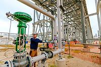 Construction progress at ExxonMobil Baytown Olefins Plant