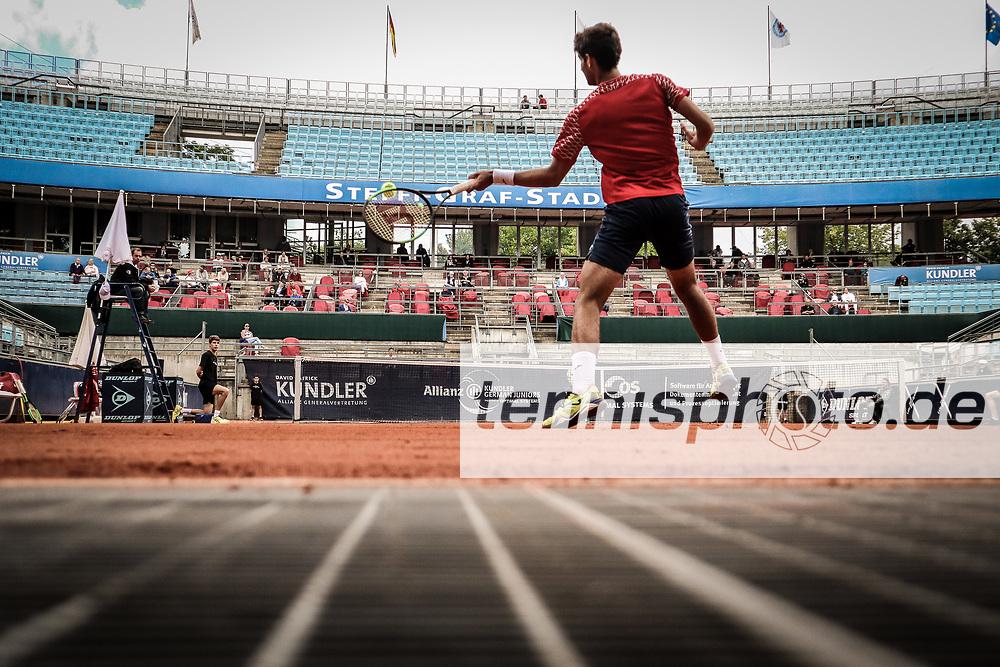 """Facundo DIAZ ACOSTA (ARG), Steffi Graf Stadion, Internationale Deutsche Jugendmeisterschaften 2018, LTTC """"Rot-Weiß"""", Berlin, 23.06.2018, Foto: Claudio Gärtner"""