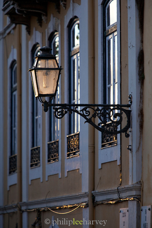 Architectural detail in Lisbon, Portugal