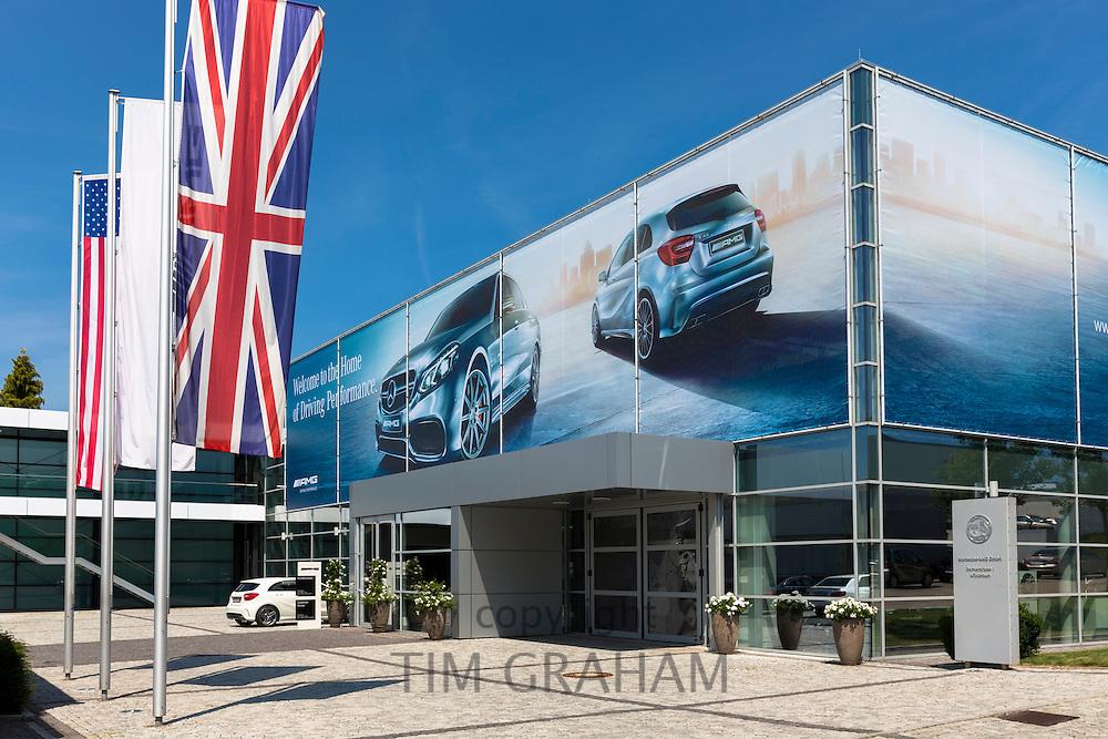 Mercedes-AMG GmbH engine factory in Affalterbach in Bavaria, Germany