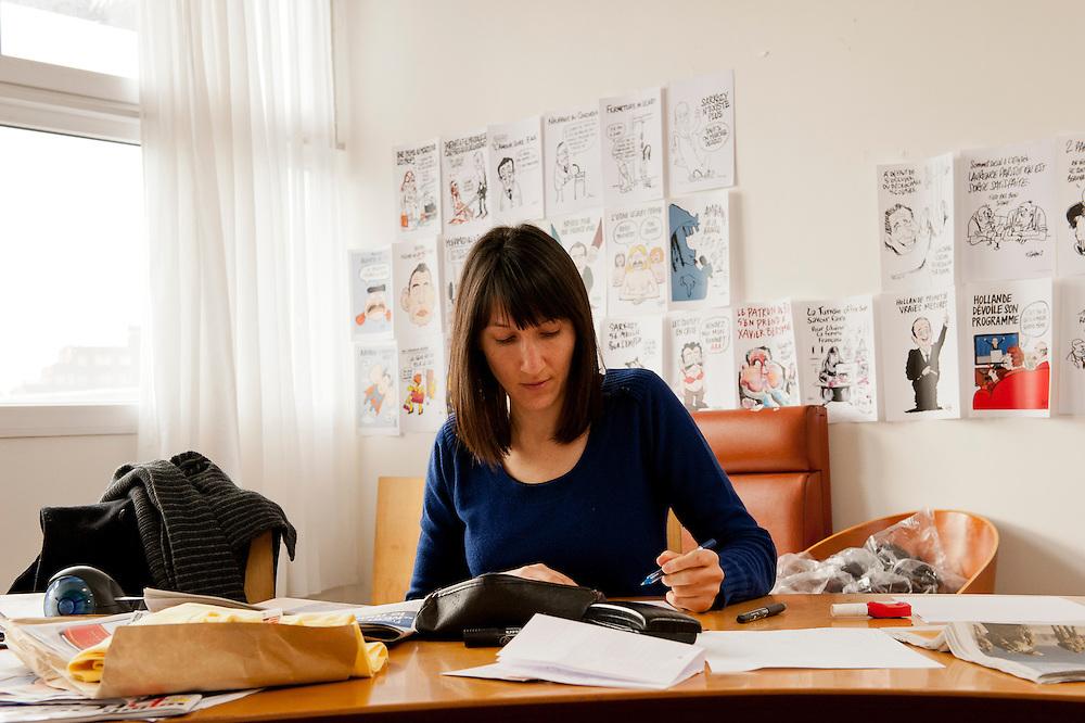 Catherine Meurisse, dessinateur,  Catherine Meurisse, dessinateur à  Charlie Hebdo cartoonist at Charlie Hebdo