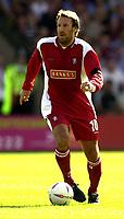Photo: Richard Lane.<br />Walsall v Aston Villa. Pre-season friendly. 02/08/2003.<br />Paul Merson.