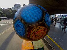 Football Parade In Sao Paulo - 21 June 2018
