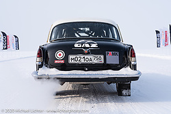 Incredible cars raced down the mile long track all day long at the Baikal Mile Ice Speed Festival. Maksimiha, Siberia, Russia. Thursday, February 27, 2020. Photography ©2020 Michael Lichter.