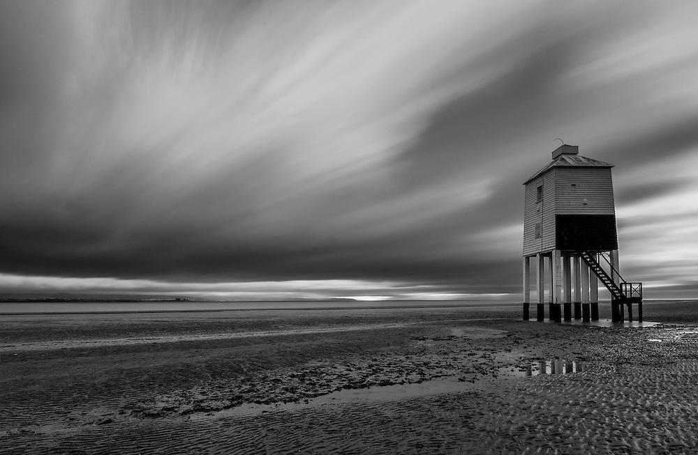Long Exposure of Burnham on Sea Lighthouse, Somerset.
