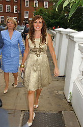 CAROL VORDERMAN at Sir David & Lady Carina Frost's annual summer party held in Carlyle Square, Chelsea, London on 5th July 2006.<br /><br />NON EXCLUSIVE - WORLD RIGHTS
