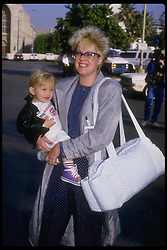 Hollywood, CA, USA;  Actress MELANIE GRIFFITH and son ALEXANDER in an undated photo.  (Michelson-Roger Karnbad/date unknown)  (Credit Image: © Michelson/ZUMAPRESS.com)