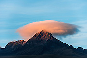 Rumiñahui Volcano. Dormant, heavily-eroded stratovolcano 4,721 meters above sea level.<br /> Andes south of Quito<br /> ECUADOR, South America