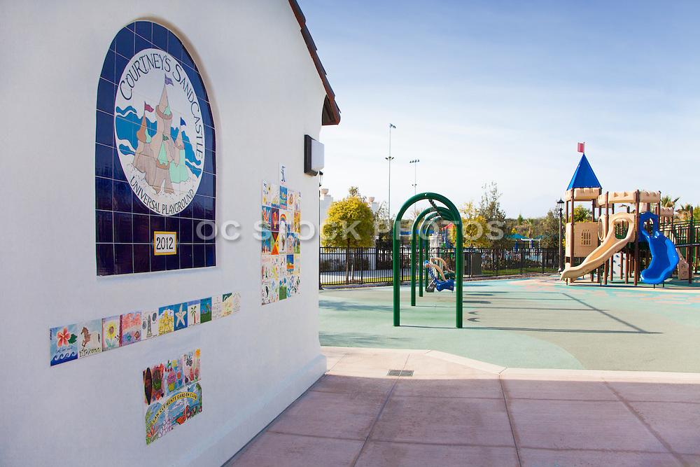Courtney's Sand Castle Universal Playground