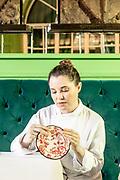Florence, Gucci Osteria da Massimo Bottura. chef Karime Lopez