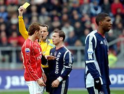 27-11-2005 voetbal utrecht - ajax , FC Utrecht heeft Ajax zondag met 1-0 verslagen en dat is een overwinning die telt in de Domstad / opstootje tussen sander keller en wesley sneijder