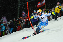 24.01.2012, Planai, Schladming, AUT, FIS Weltcup Ski Alpin, Herren, Slalom 2. Durchgang, im Bild Mattias Hargin (SWE) // Mattias Hargin of Sweden during the second run of the FIS Alpine Skiing World Cup mens slalom race, Schladming, Austria on 2012/01/24. EXPA Pictures © 2012, PhotoCredit: EXPA/ Sandro Zangrando