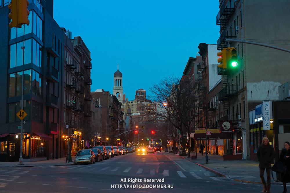 Greenwich Village Street Crossing, New York