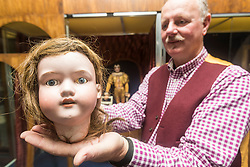 """Edinburgh's Museum of Childhood is hosting an exhibition """"It's Alive! Mechanical Marvels from the House of Automata"""" between 22 June and 18 September. <br /> <br /> The forty items on display come from the collection of Michael and Maria Start. Michael, automata historian and horologist, and Maria, sculptor and artist, are together known as the House of Autmata.<br /> <br /> Pictured:"""
