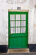 Tradtional door at numbeer 34, Ile De Re, France.