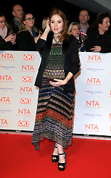 at the National Television Awards at the 02 Arena in London, UK. 24 Jan 2018 Pictured: Angela Scanlon. Photo credit: MEGA TheMegaAgency.com +1 888 505 6342