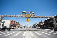 Afton, Wyoming.