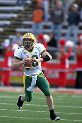 25 October 2008: Nick Mertens in a game which the North Dakota Bison defeated the Illinois State Redbirds at Hancock Stadium on campus of Illinois State University in Normal Illinois