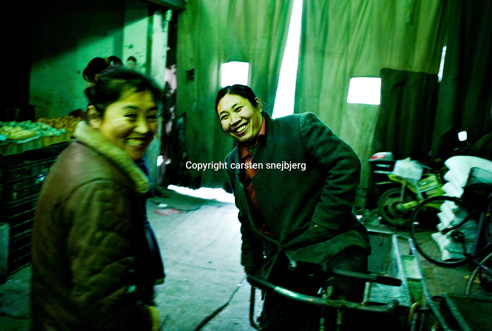 daily life in Beijing, China, on monday 14. jan, 2008