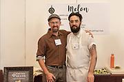 MELON, Cucumis melo<br /> Showcase: 'Galina' OP<br /> Breeder: Don Tipping, Siskiyou Seeds<br /> Chef: Nicholas Tamburo, Momofuku Nishi