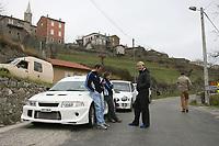 Motor<br /> Foto: Dppi/Digitalsport<br /> NORWAY ONLY<br /> <br /> MOTORSPORT - WRC 2007 - MONTE CARLO RALLY - RECCE - VALENCE (FRA) 15/01 TO 17/01/2007 <br /> <br /> PETTER SOLBERG (NOR) / SUBARU IMPREZA WRC 2006 - AMBIANCE - PORTRAIT<br /> MANFRED STOHL (AUT) / CITROEN TEAM OMV  - AMBIANCE - PORTRAIT