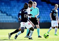 Fotball , 18. mars 2017 ,  Privatkamp , Strømsgodset - Sogndal 5-0<br />  Abdul-Basit Agouda , SIF<br /> Christoph Psyche , Sogndal