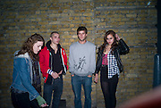 ALICE DELLAL, ( FAR RIGHT) Sony BRAVIA World First - launch party. The Tramshed, 6-8 Garden Walk, Shoreditch London. 29 January 2009 *** Local Caption *** -DO NOT ARCHIVE-© Copyright Photograph by Dafydd Jones. 248 Clapham Rd. London SW9 0PZ. Tel 0207 820 0771. www.dafjones.com.<br /> ALICE DELLAL, ( FAR RIGHT) Sony BRAVIA World First - launch party. The Tramshed, 6-8 Garden Walk, Shoreditch London. 29 January 2009
