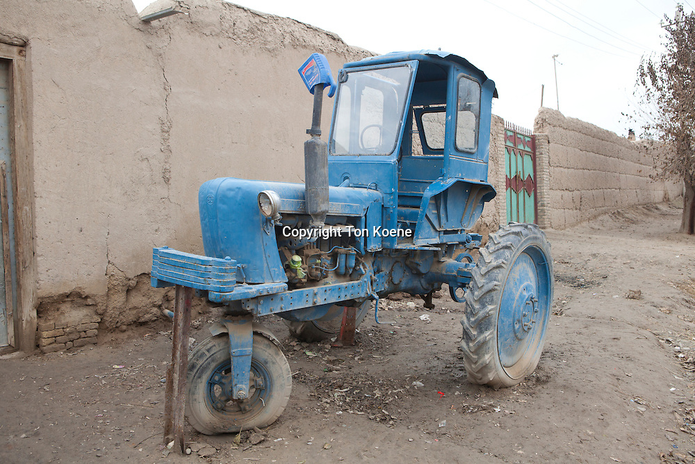 Russian tractor in Afghanistan