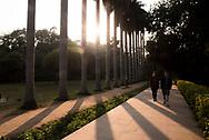 Tourists in Lodhi Gardens (Lodi Gardens), New Delhi, India