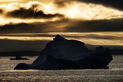 Ice bergs in Hinlopen, Svalbard, Norway