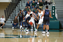 07 December 2016:   during an NCAA men's division 3 CCIW basketball game between the North Park Vikings and the Illinois Wesleyan Titans in Shirk Center, Bloomington IL