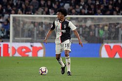 May 19, 2019 - Turin, Turin, Italy - Juan Cuadrado #16 of Juventus FC in action during the serie A match between Juventus FC and Atalanta BC at Allianz Stadium on May 19, 2019 in Turin, Italy. (Credit Image: © Giuseppe Cottini/NurPhoto via ZUMA Press)