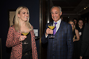 KRYSTAL ROXX, ANDREW RIDGELEY,, The George Michael Collection drinks.  Christie's, King St. London, 12 March 2019
