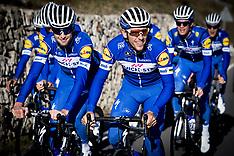 Belgian Team Cycling Practice - 09 January 2018